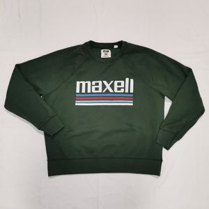 Tailgate   Maxell Cassette Tape Graphic Sweatshirt